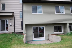 Its a 1106 sf 2 bedroom 1.5 bath 2 Story apartment!