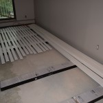 Casings and baseboards ready for install!