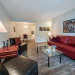 Modern, comfy furnishings