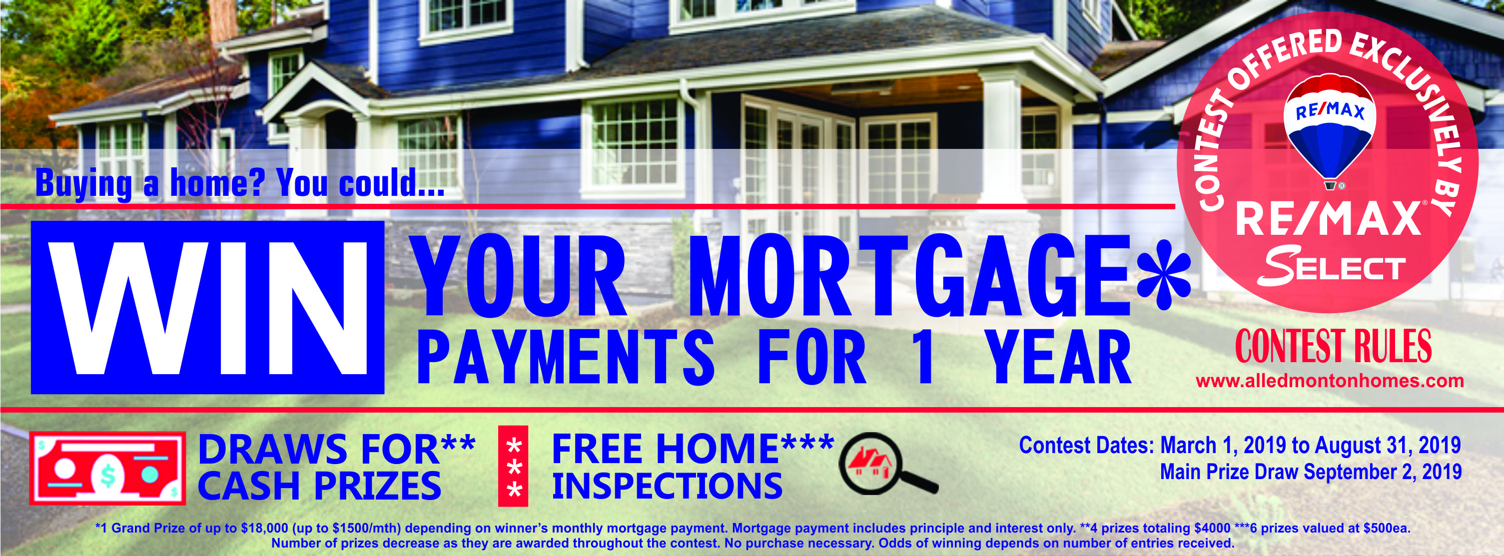 Win your mortgage payments for a year!: Melody Kilbank